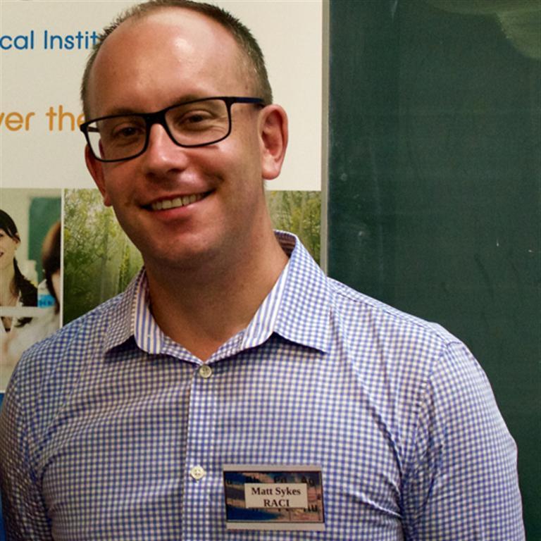 Portrait image for Dr Matt Sykes